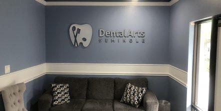 Waiting Room at Dental Arts Seminole